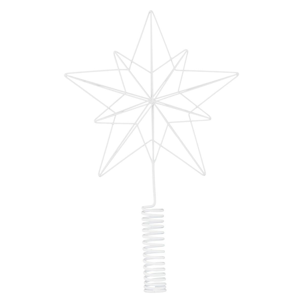 Vánoční hvězda - špička na stromek