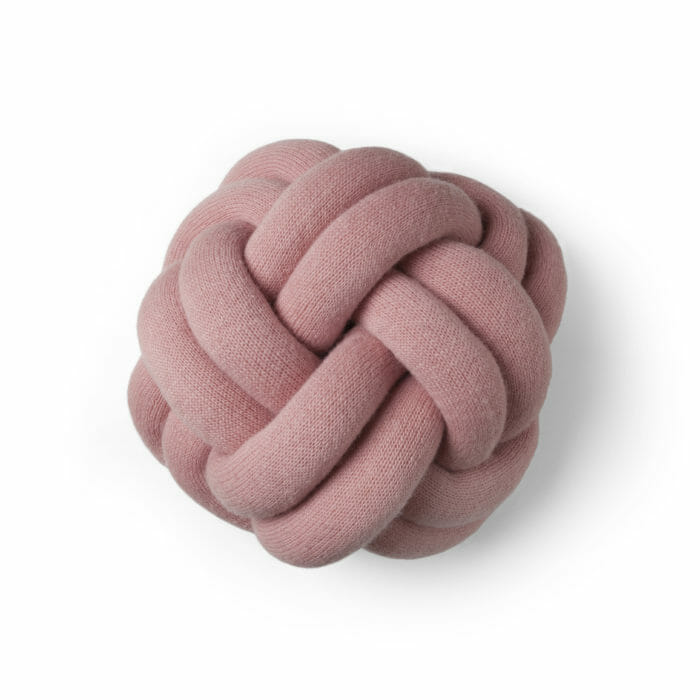 Polštář Knot růžový