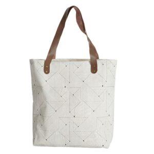 Taška Shopper trojúhelníky