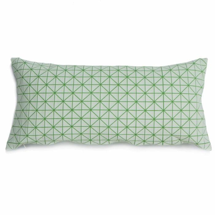 Povlak polštáře Geo Origami Green 30x60