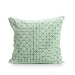 Polštář Geo Origami Green