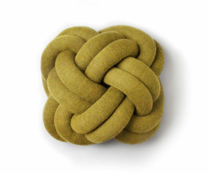 Polštář Knot žlutý