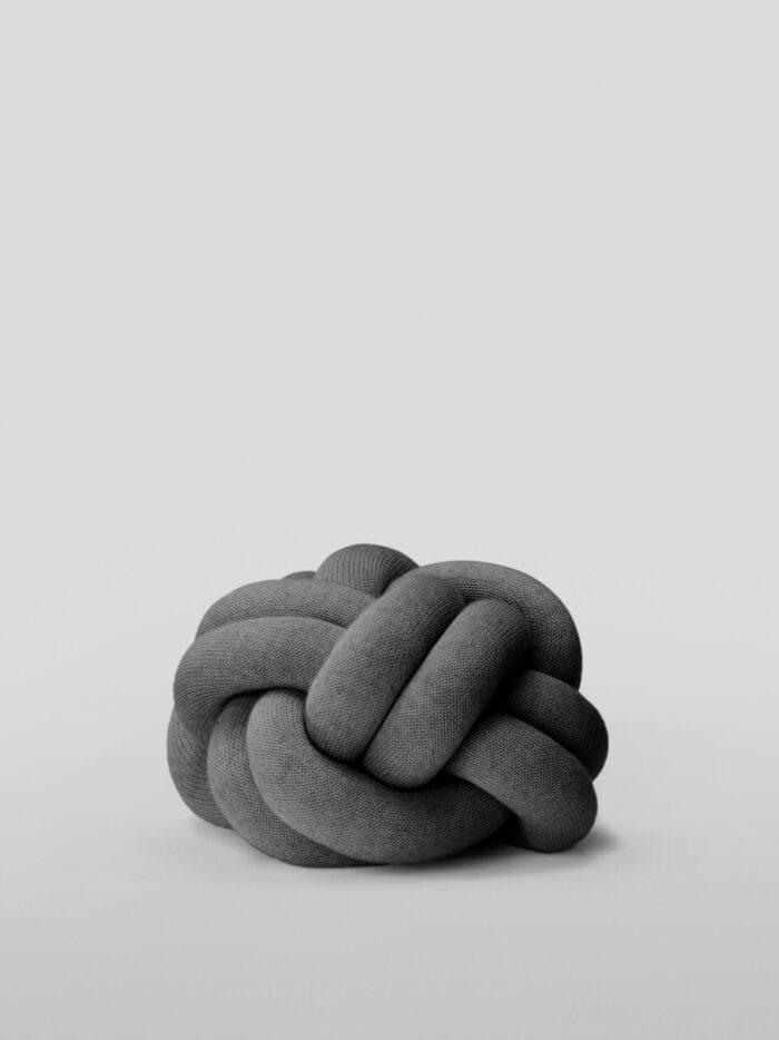 Polštář Knot šedý