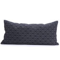 Povlak polštáře Geo Origami Black 30x60