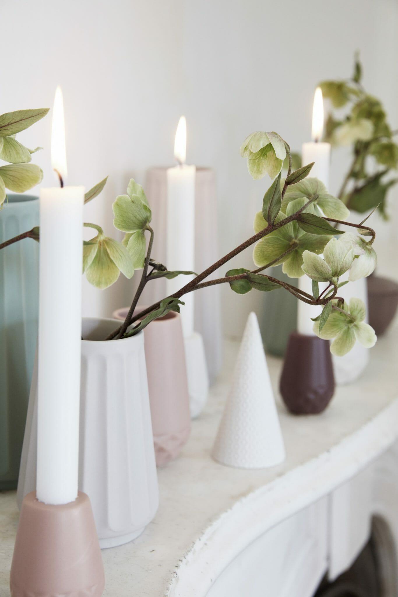 Sada keramických váz