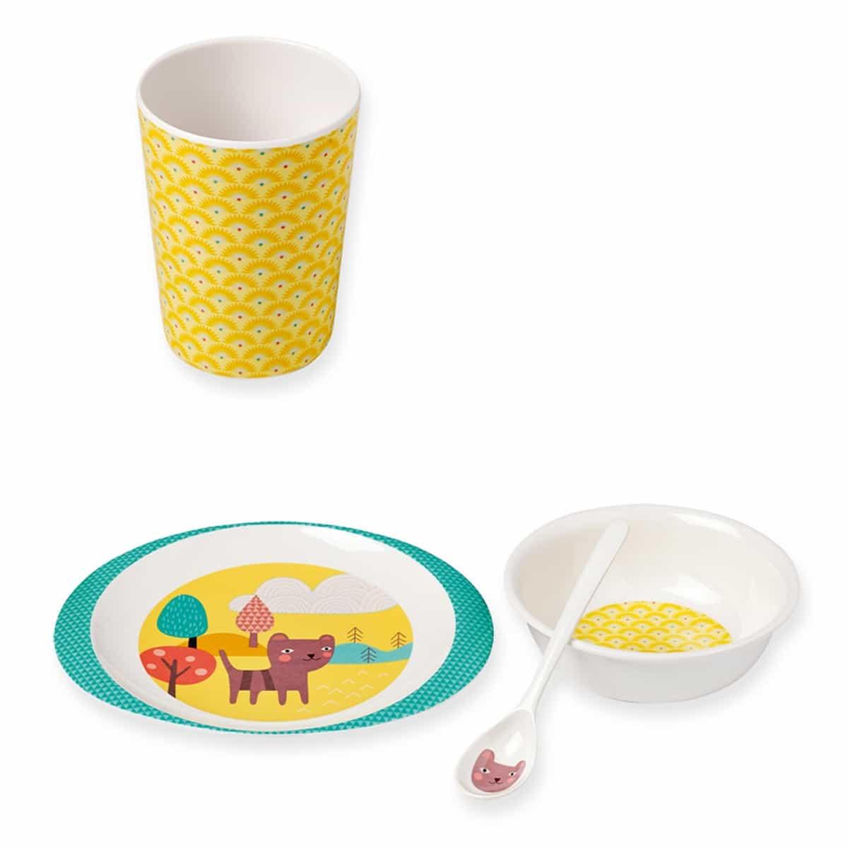 Dětský jídelní set - Cat