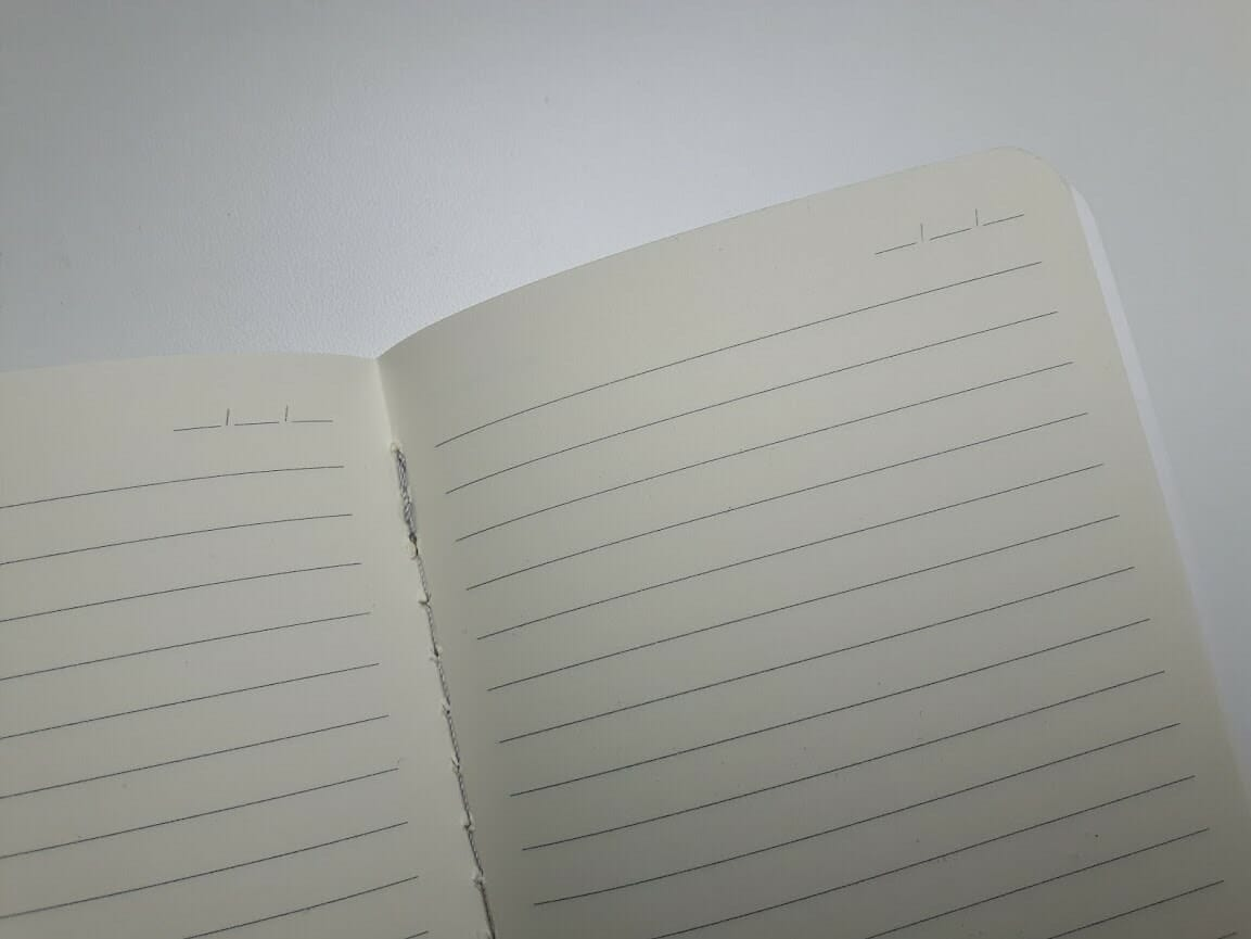 Zápisník Ruled malý, set 3 ks
