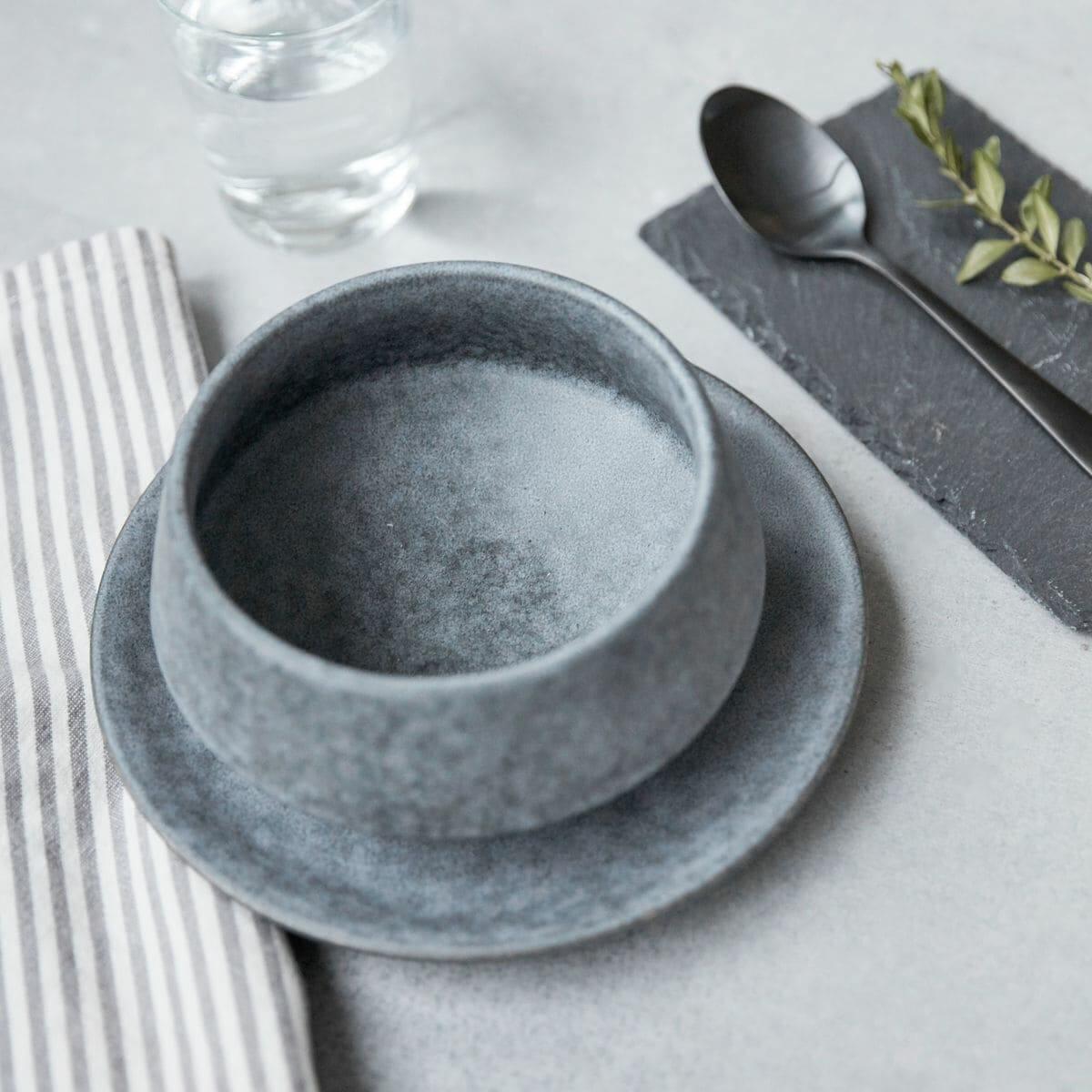 Hranatá miska Grey Stone