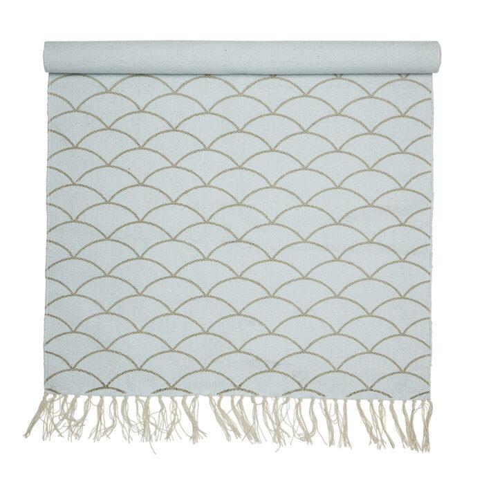 Bavlněný koberec Fish Scale