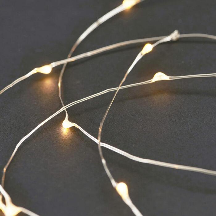 Světelný řetěz Silver