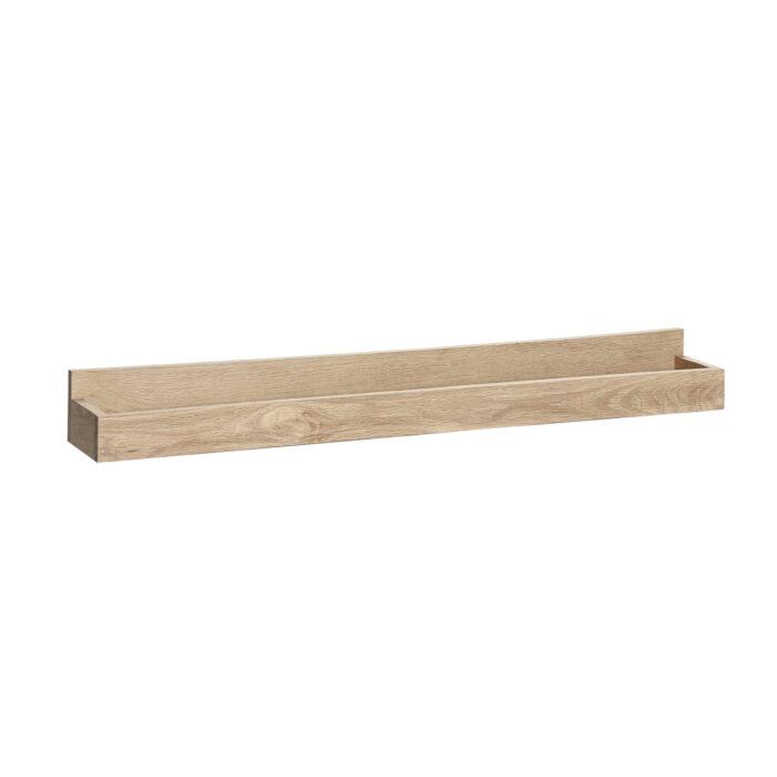Dubová dřevěná police na fotky