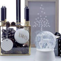 Dřevěný rámeček s vánočním motivem
