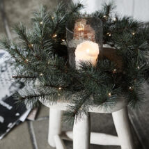 Svítící vánoční věnec Wreath 35 LED