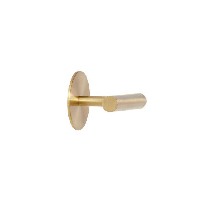 Kovový věšák Brass